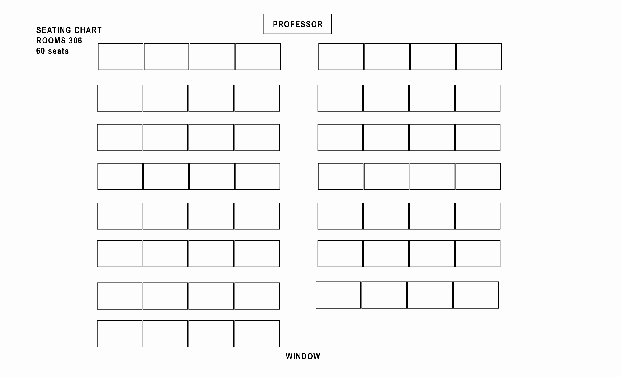 Seating Charts Templates for Classrooms Unique Classroom Seating Chart Templates Portablegasgrillweber