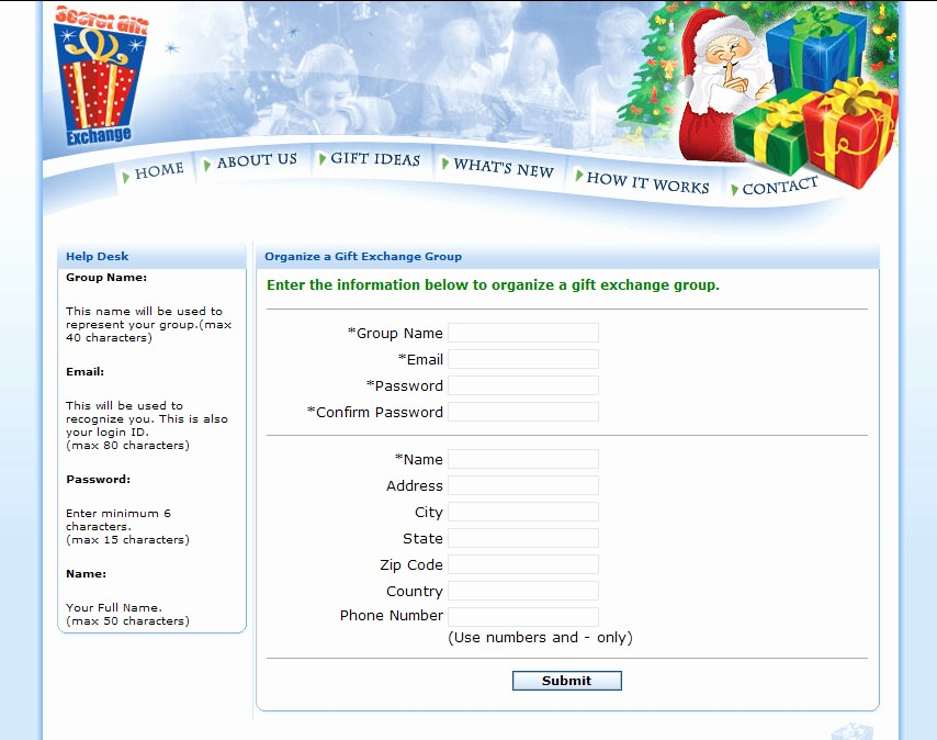 Secret Santa Gift Exchange Template Best Of Sreenshot Secret Gift Exchange 1 5