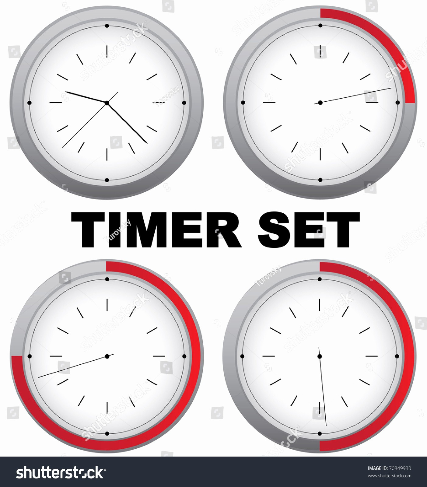 Set A 15 Min Timer Luxury Raster Set Timers with 15 Min Interval Vector