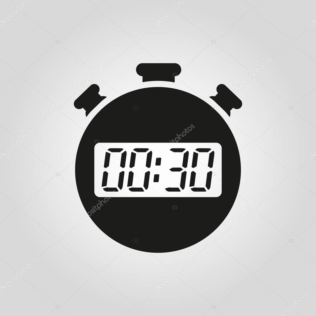 Set Stopwatch for 5 Minutes Awesome the 30 Seconds Minutes Stopwatch Icon Clock and Watch