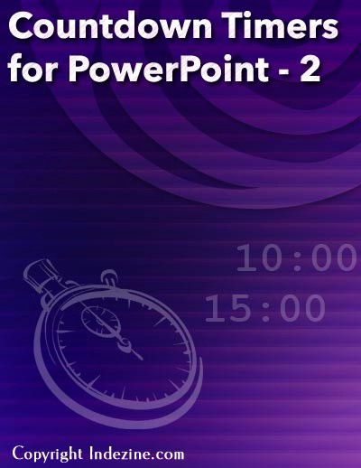 Set Stopwatch for 5 Minutes Beautiful Countdown Timers for Powerpoint Set 2 Longer