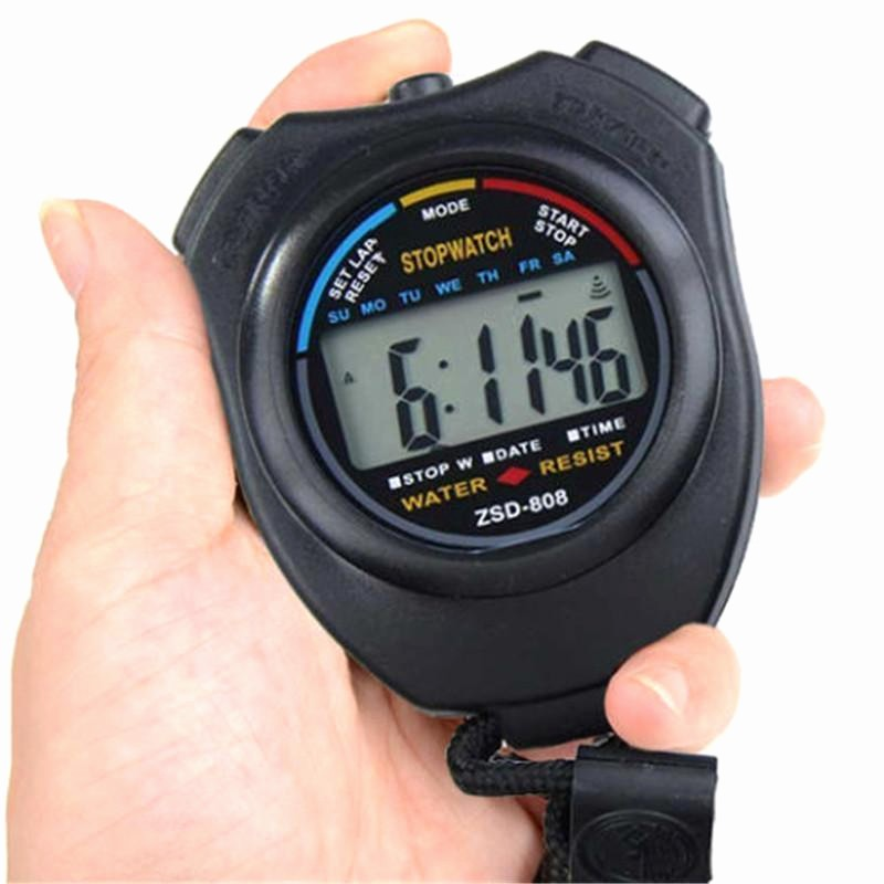 Set Stopwatch for 5 Minutes Fresh Stop Watch Lcd Digital Stopwatch Professional