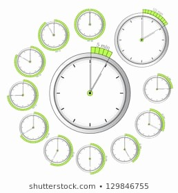 Set Stopwatch for 5 Minutes Inspirational 5 Min Timer Изображения стоковые фотографии и векторная