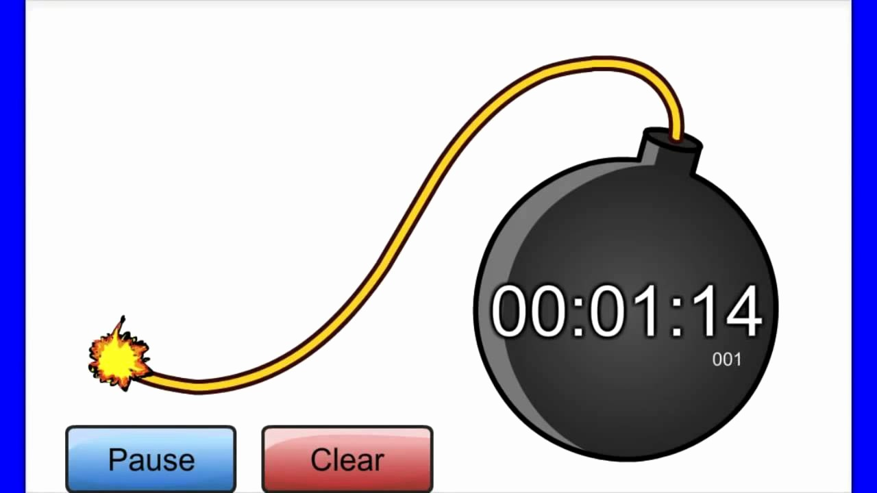 Set Stopwatch for 5 Minutes Lovely Countdown Timer