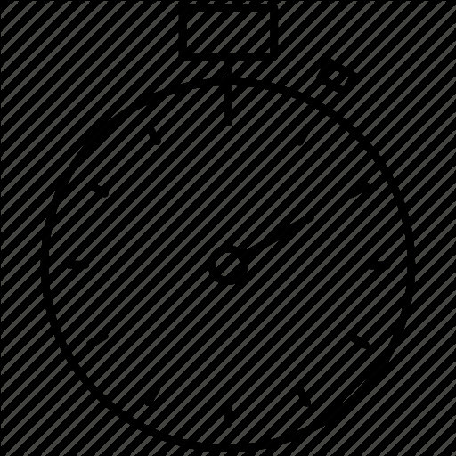 Set Stopwatch for 5 Minutes Unique Clock Lap Minute Race Stopwatch Tick Time Icon