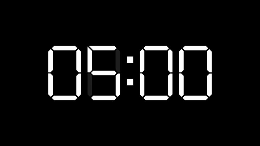 Set Timer for 5 Mins Best Of Countdown Stock Footage Video Shutterstock