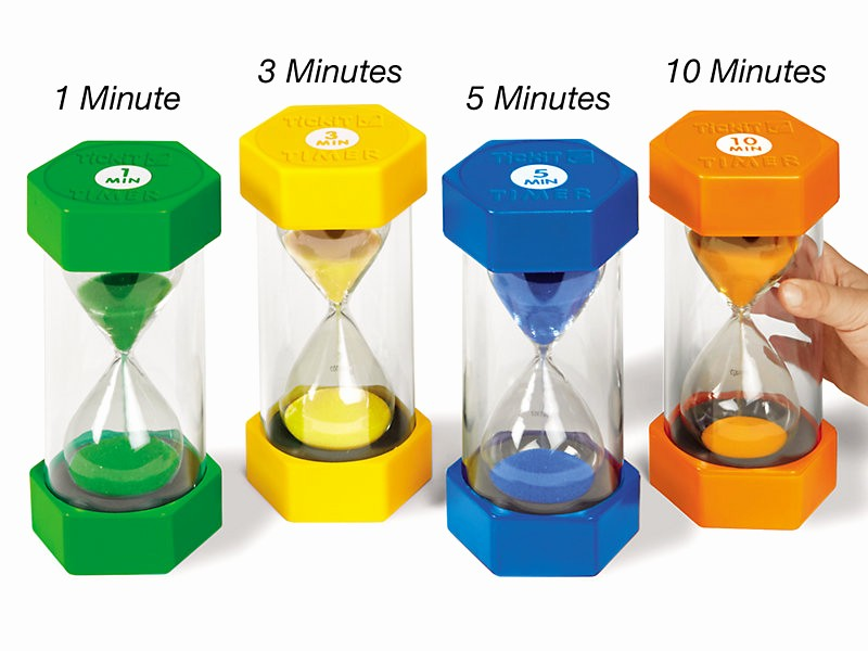 Set Timer for 5 Mins Inspirational Giant Sand Timers Plete Set at Lakeshore Learning
