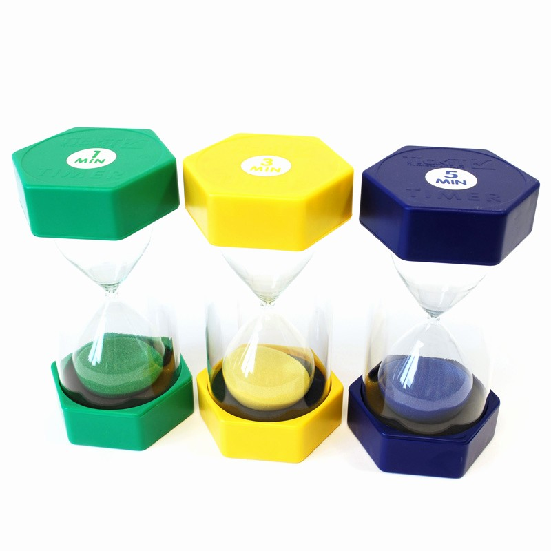 Set Timer for 5 Mins Lovely Buy Set Of 3 Tickit Sand Timers 1 3 and 5 Minutes