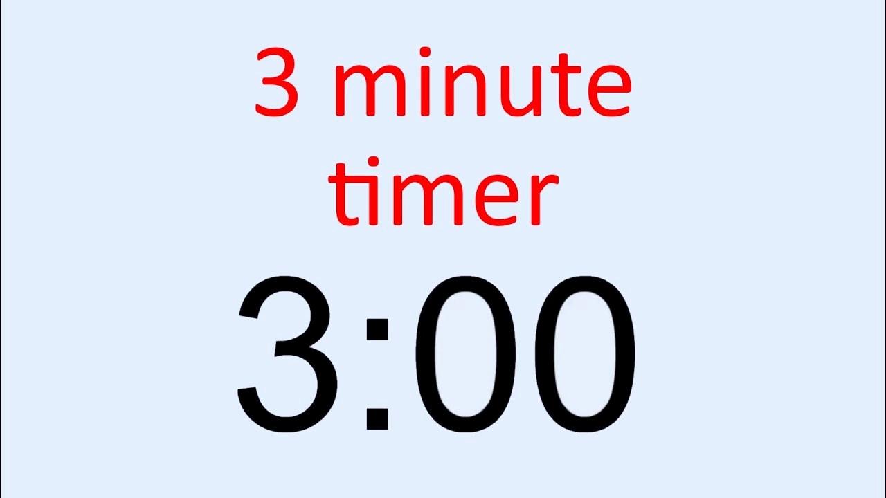 Set Timer for 5 Mins Unique 3 Minute Timer
