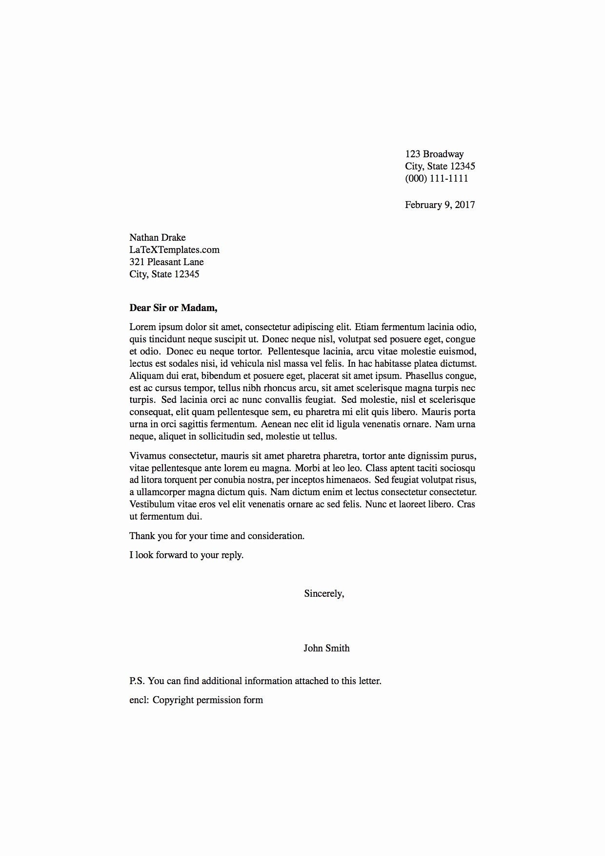 Set Up A Business Letter Awesome Latex Templates formal Letters