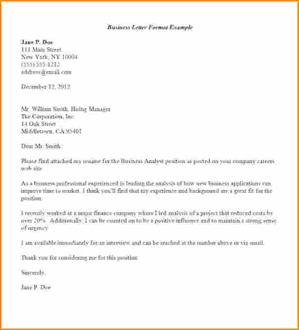 Set Up A Business Letter Best Of 12 Handwritten Business Letter format