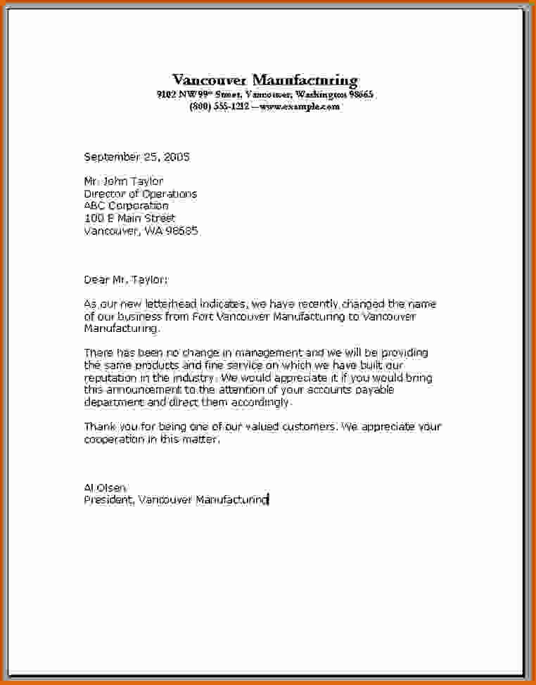 Set Up A Business Letter Luxury 13 How to Set Up A Letter format