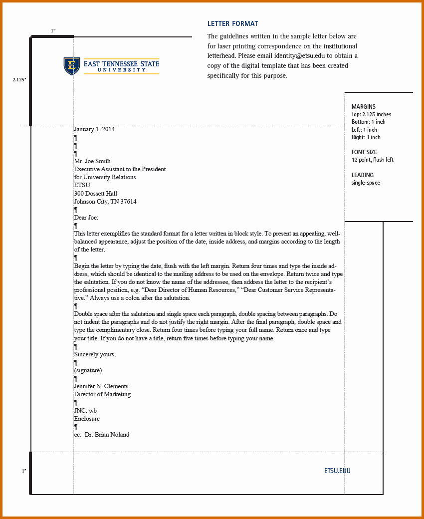 Set Up A Business Letter New 13 How to Set Up A Letter format