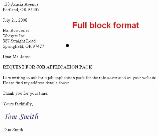 Set Up A Business Letter New How to format A Us Business Letter
