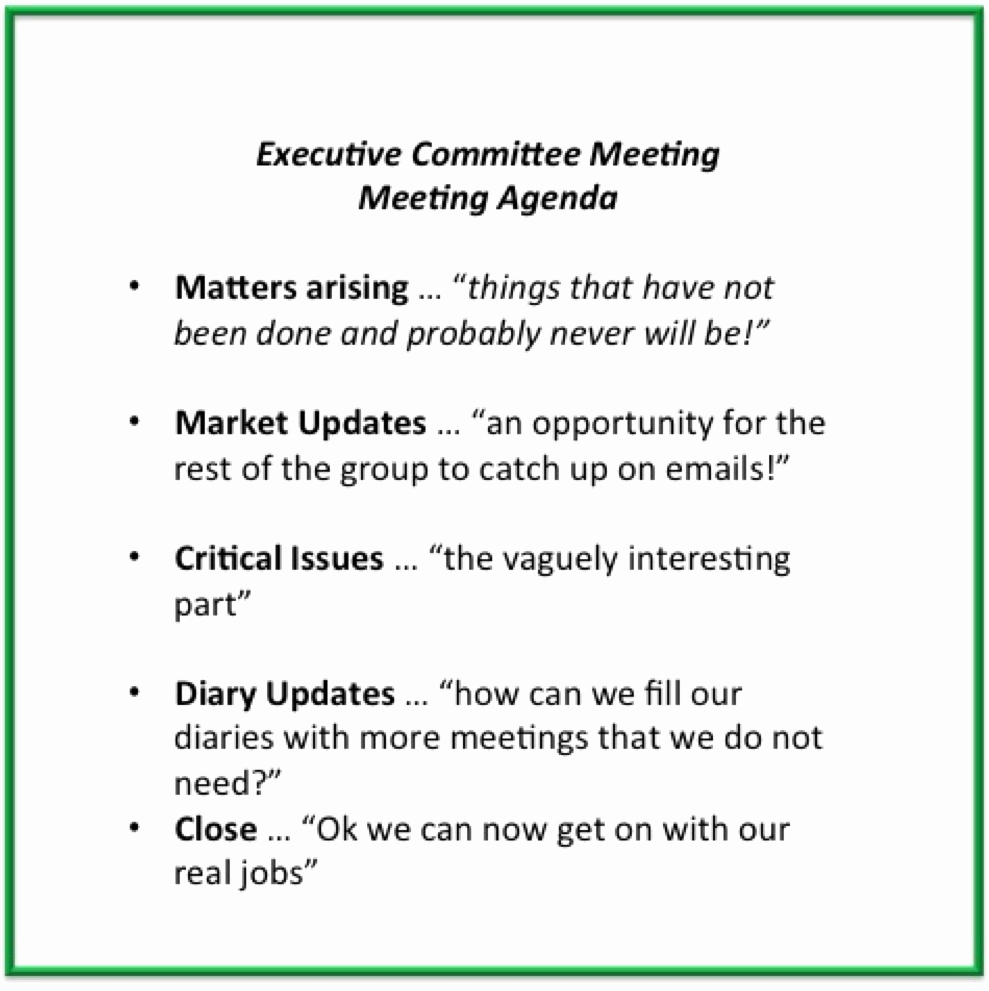 Setting Up A Meeting Agenda Awesome Mary Clare tomes