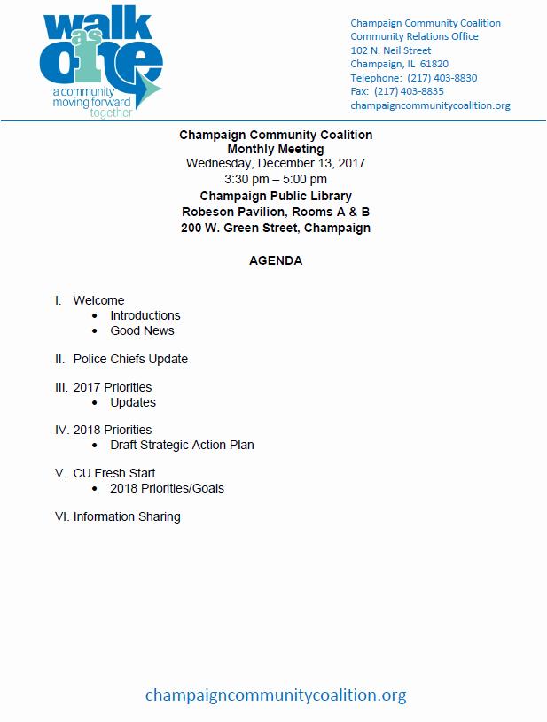 Setting Up A Meeting Agenda Luxury December 13 2017 All Goals Team Meeting Agenda