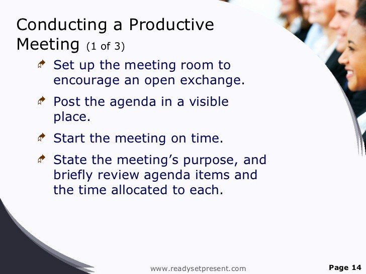 Setting Up A Meeting Agenda Luxury Meetings Powerpoint Ppt Content Modern Sample