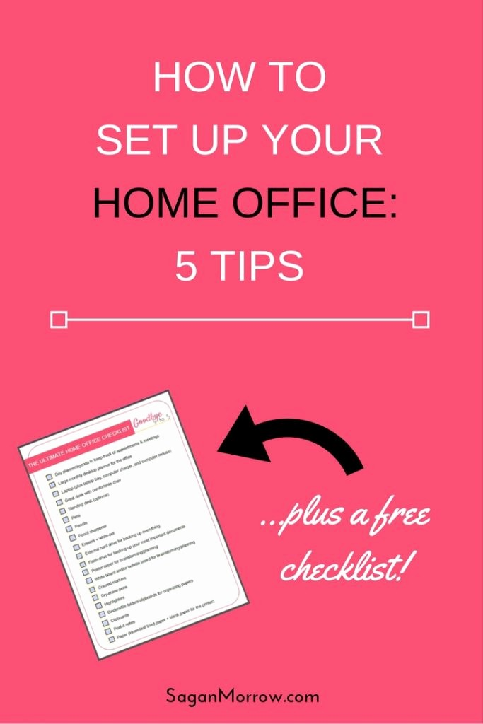 Setting Up An Office Checklist Beautiful the Ultimate Home Fice Checklist Tips for Setting Up