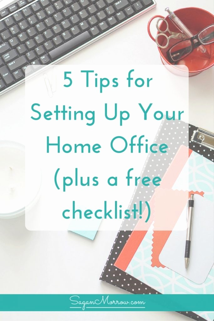 Setting Up An Office Checklist New the Ultimate Home Fice Checklist Tips for Setting Up