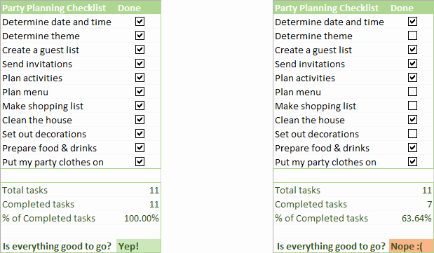 Setting Up An Office Checklist Unique Insert Checkbox In Excel Create Interactive Checklist or