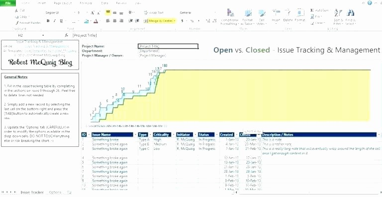 Sharepoint Work order Tracking System Luxury Excel issue Tracker Template Xls – Williambmeyer