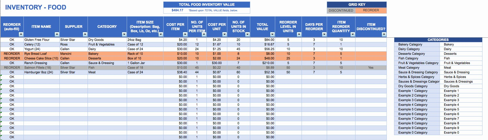 Shipping and Receiving Excel Spreadsheet Best Of Excel Inventory Template Free Download Inventory