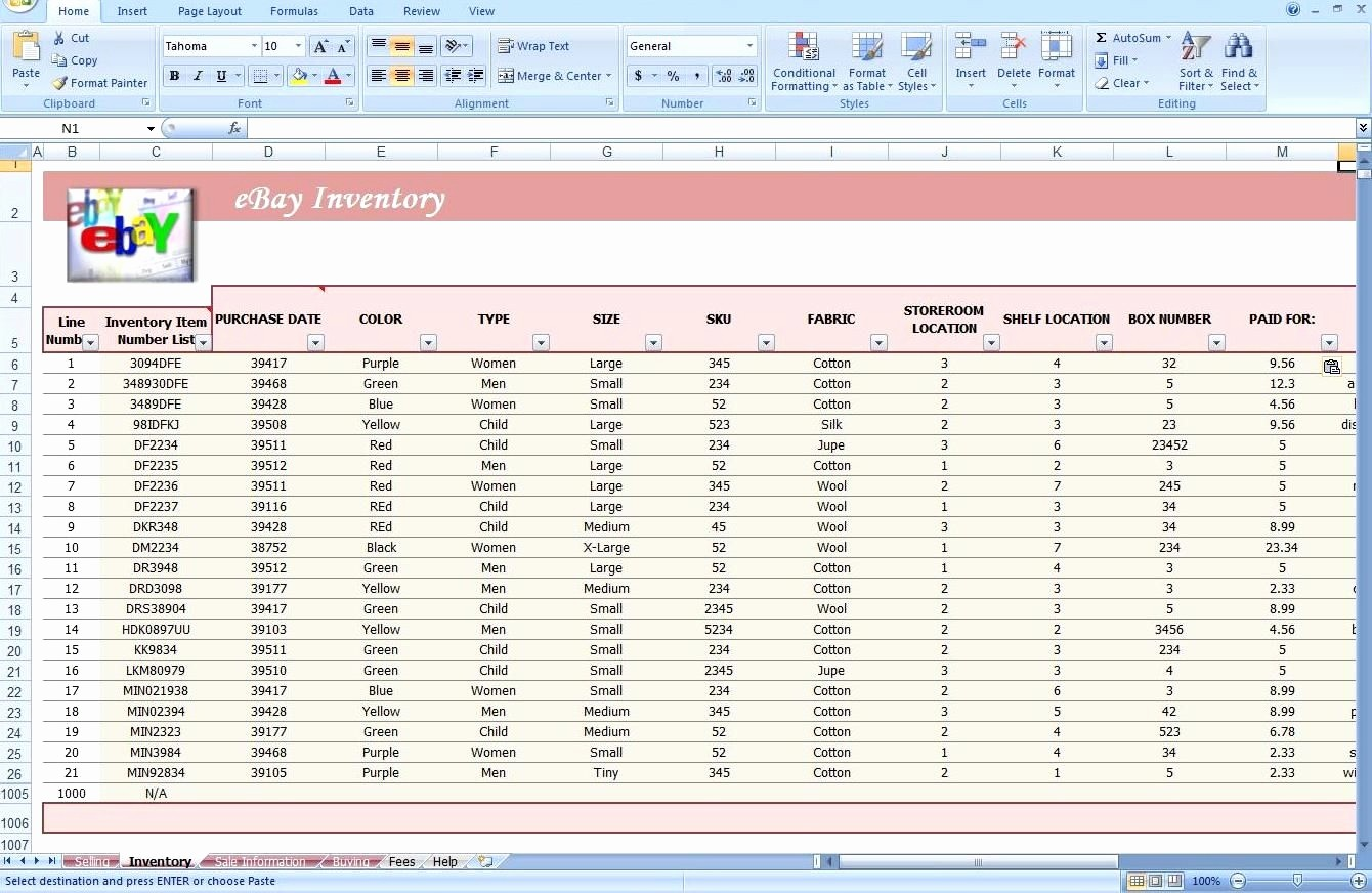 Shipping and Receiving Excel Spreadsheet Inspirational Excel Inventory Template Free Download Inventory