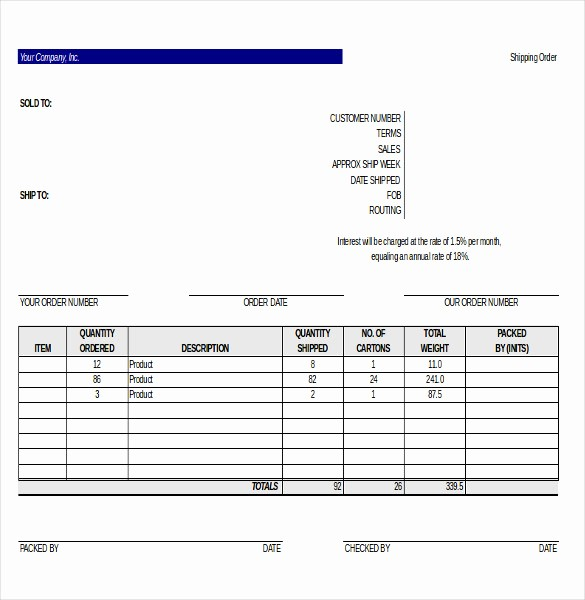 Shipping and Receiving Excel Spreadsheet Lovely 21 Delivery order Templates Word Google Docs