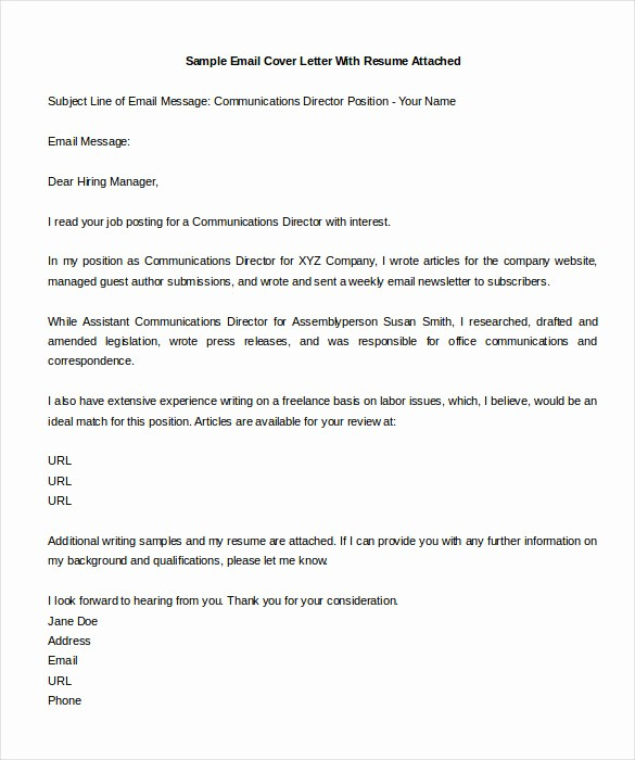 Short and Simple Cover Letters Inspirational Simple Email Cover Letter Sample Cover Letter Samples