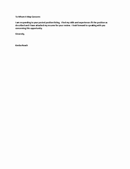 Short and Simple Cover Letters Lovely Pin Short Cover Letter Free Resume Samples and On Pinterest