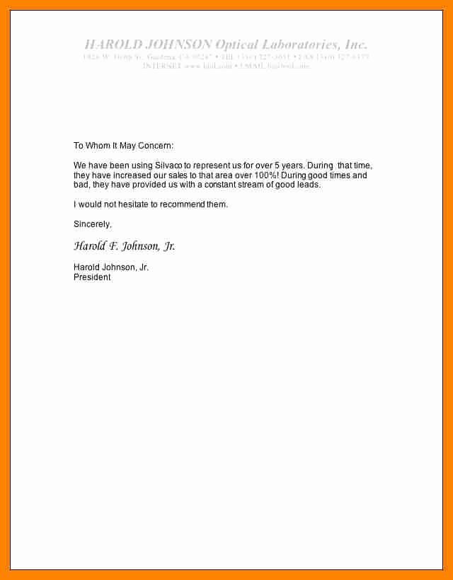 Short Recommendation Letter for Employee Fresh Short Application Letter Sample Cover Letter Samples
