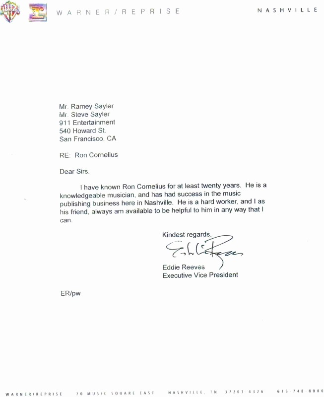 Short Recommendation Letter for Employee Inspirational Reference Letter format