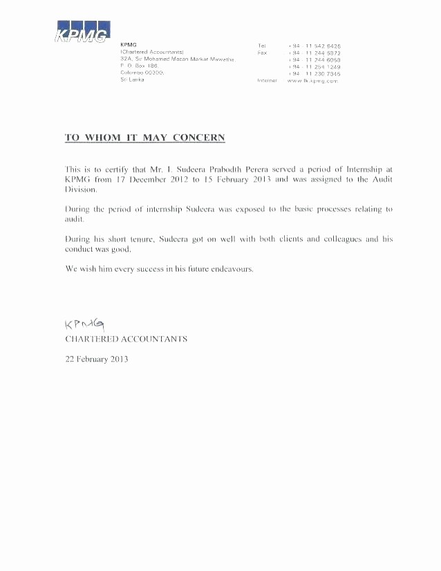 Short Recommendation Letter for Employee Unique School Re Mendation Letter Template Example In Word