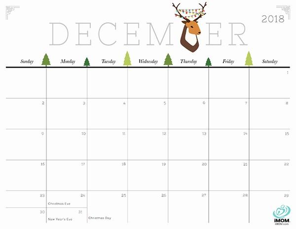 Show Me A Monthly Calendar Beautiful Cute and Crafty 2018 Calendar Imom