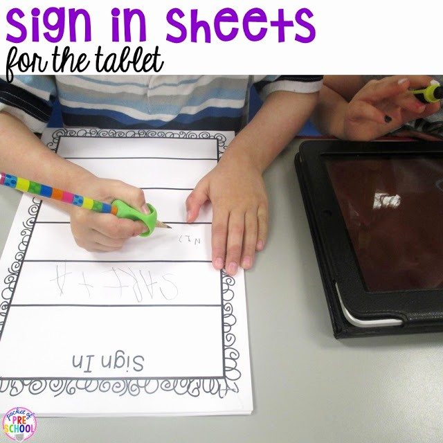 Sign In Sheet for Students Beautiful Free Daily Sign In Sheets for Your Classroom Pocket Of