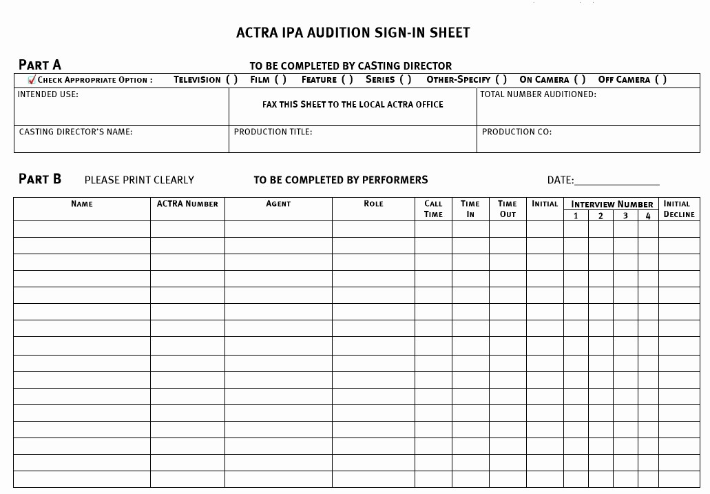 Sign In Sheet Template Free Fresh 9 Free Sample Conference Sign In Sheet Templates