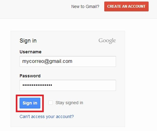 Sign In to Your Account Awesome Gmail Account Sign In