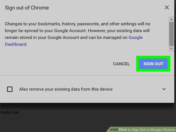 Sign In to Your Account Beautiful How to Sign Out Of A Google Account In Chrome Wikihow