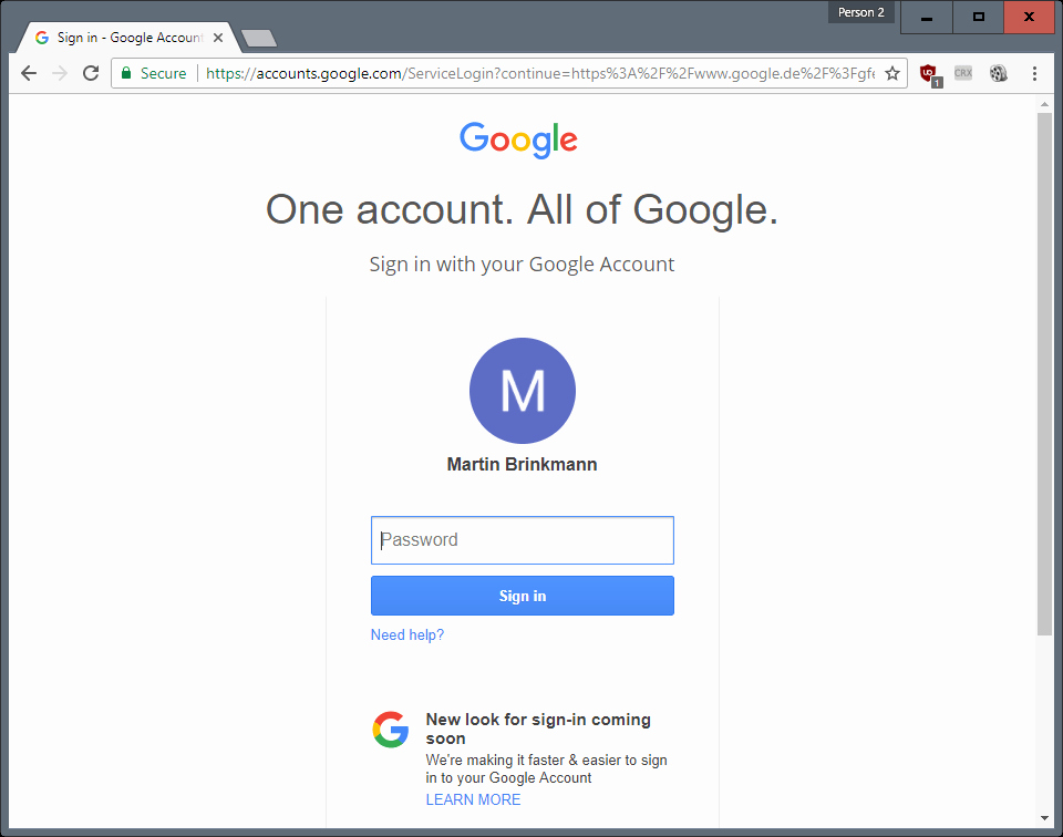 Sign In to Your Account Fresh Google Sign In Page S New Unified Design Ghacks Tech