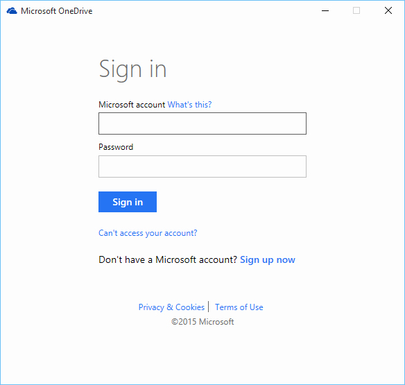 Sign In to Your Account Lovely How to Setup Edrive On Windows 10
