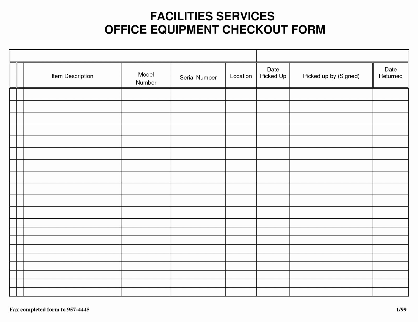 Sign Out Sheet Template Excel Awesome Sheet Inventory Sign Out Template Free Download In Sample