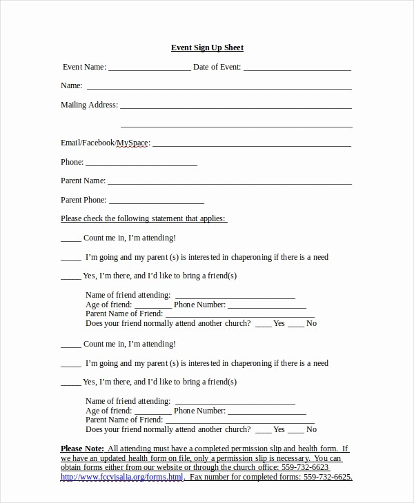 Sign Up Sheets for events Beautiful Sign Up Sheet 16 Free Pdf Word Documents Download