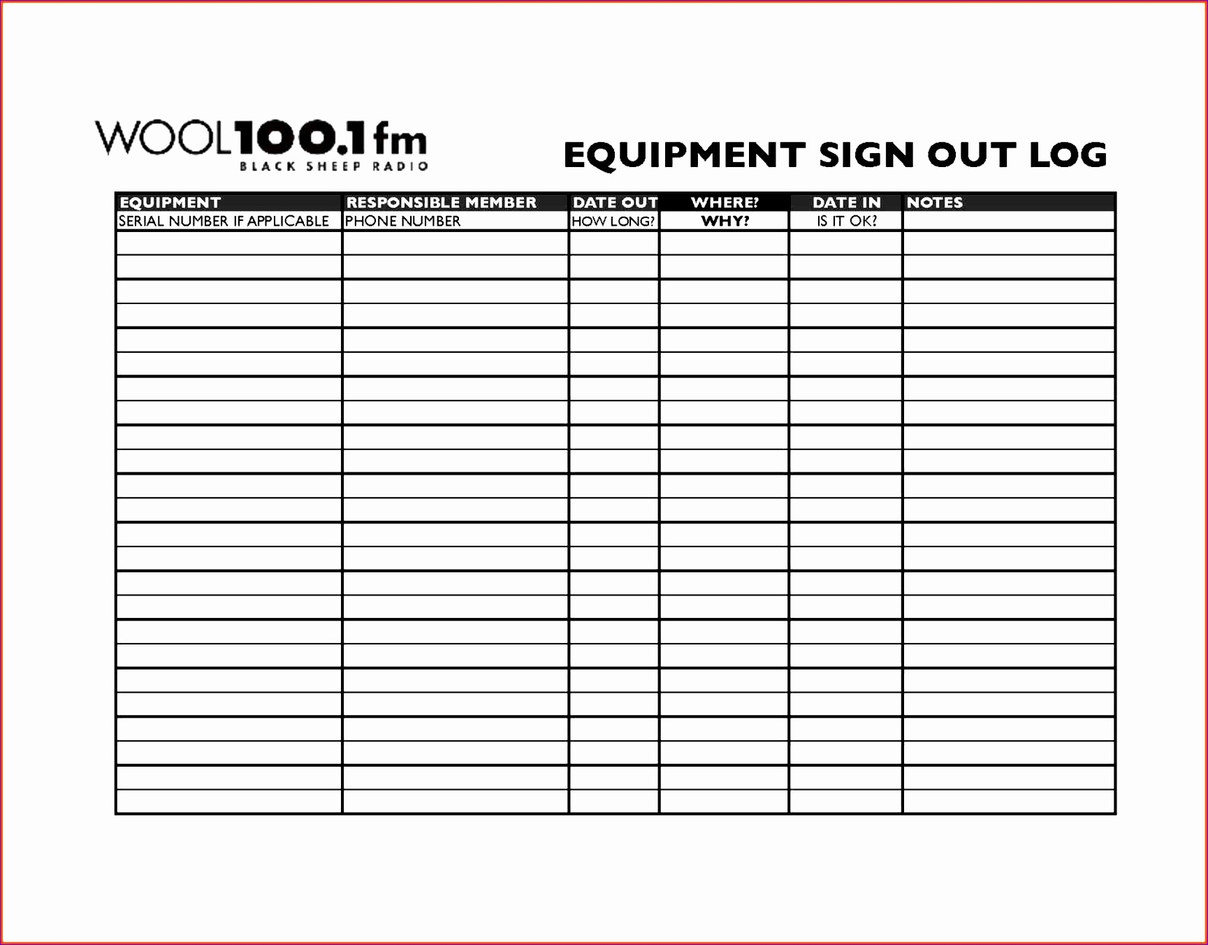 Signing In and Out Template Beautiful Sign Out Sheet Template Excel Skskq Lovely Sign Out Sheet