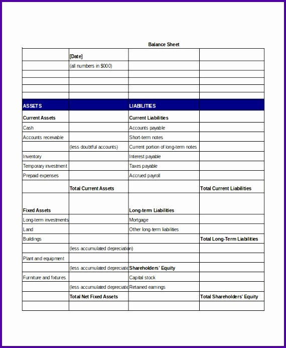 Simple Balance Sheet format Excel Best Of 9 Balance Sheet Template Uk Tipstemplatess Tipstemplatess