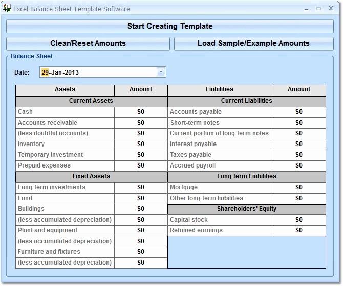 Simple Balance Sheet format Excel Elegant Balance Sheet Template Excel Excel Spreadsheet Templates