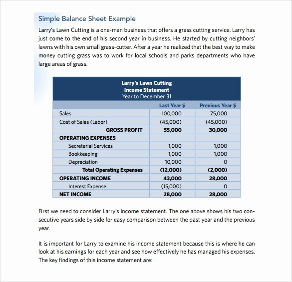 Simple Balance Sheet format Excel Fresh Simple Balance Sheet Template Excel Balance Sheet