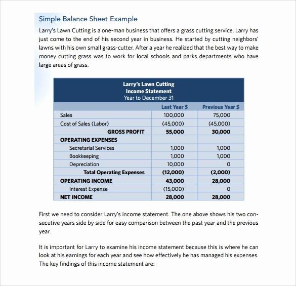 Simple Balance Sheet format Excel Fresh Simple Balance Sheet Template Excel Balance Sheet