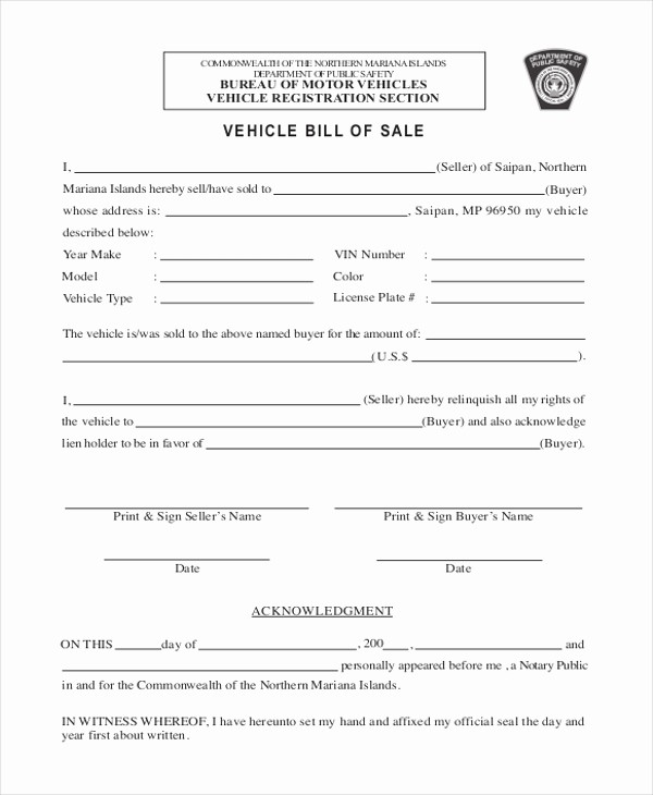 Simple Bill Of Sale Auto Lovely Simple Bill Of Sale form Sample 9 Free Documents In Pdf