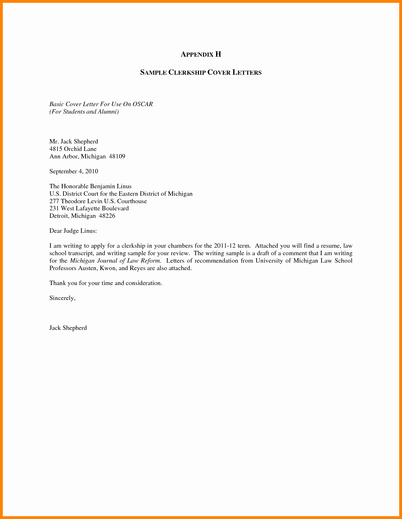 simple cover sheet for resume