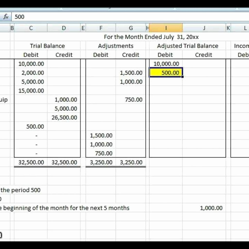 Simple Debit Credit Excel Spreadsheet Fresh Debit Credit Spreadsheet within Basic Accounting Worksheet